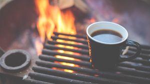 Превью обои кофе, гриль, чашка