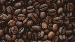 Превью обои кофейные зерна, кофе, зерна, коричневый, обжарка