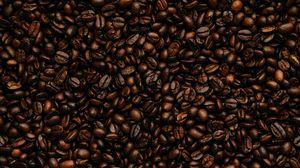 Превью обои кофейные зерна, зерна, кофе, обжарка, коричневый