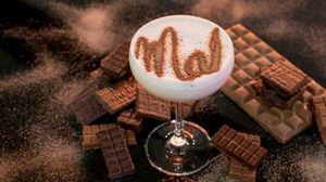 Превью обои коктейль, какао, шоколад, десерт