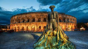 Превью обои колизей, памятник, достопримечательности, рим, италия
