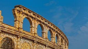Превью обои колизей, рим, италия, архитектура