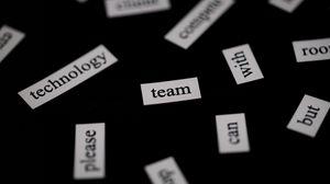 Превью обои команда, надпись, слово