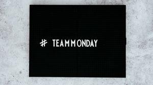 Превью обои команда, понедельник, надпись, текст, хэштег