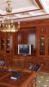 Превью обои комната, кабинет, мебель, дизайн, деревянный