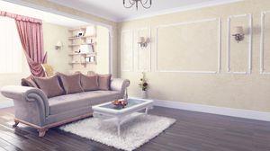 Превью обои комната, мебель, интерьер, стильно