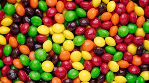 Превью обои конфеты, драже, разноцветный, десерт