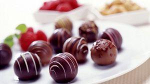 Превью обои конфеты, шоколад, глазурь