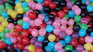 Превью обои конфеты, жевательные, множество, разноцветные