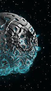 Превью обои космический корабль, sci-fi, космос, фантастика, 3d