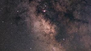Превью обои космос, звезды, созвездия, млечный путь