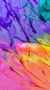 Превью обои краска, разводы, пятна, яркий