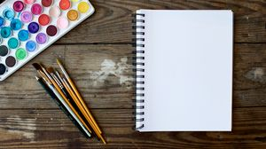 Превью обои краски, кисти, художество, рисование
