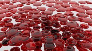 Превью обои кровь, клетки, форма, поверхность
