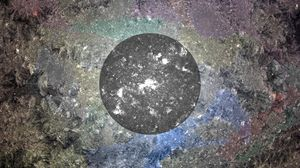 Превью обои круг, фон, поверхность