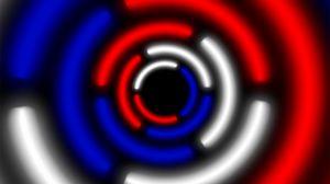 Превью обои круг, россия, белый, синий, красный