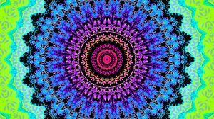 Превью обои круги, узор, разноцветный, абстракция
