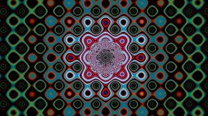 Превью обои круги, узоры, формы, линии, цветной
