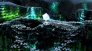Превью обои куб, формы, объем, 3d