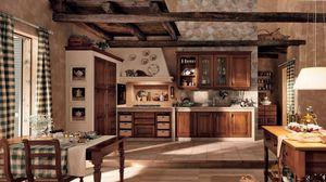 Превью обои кухня, старинный, интерьер, мебель, деревянный