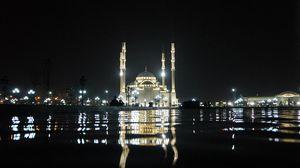 Превью обои курбан-байрам, ураза-байрам, тадж-махал, ислам, мечеть