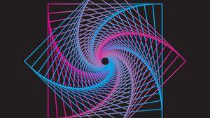 Превью обои квадрат, фигура, градиент, формы