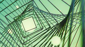 Превью обои квадрат, формы, полосы, абстракция