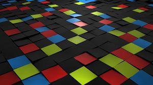 Превью обои квадрат, плитка, мозаика