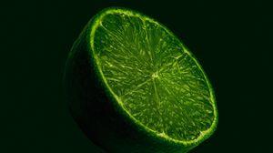 Превью обои лайм, фрукт, цитрус, зеленый