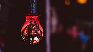 Превью обои лампа, краска, пятна, освещение