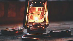 Превью обои лампа, ретро, винтаж