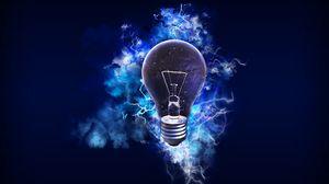 Превью обои лампочка, электричество, энергия, свет