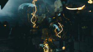 Превью обои лампочка, электричество, свет, освещение, стеклянный