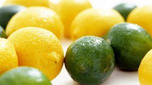 Превью обои лайм, лимон, цитрус