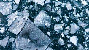 Превью обои лед, льдина, вода