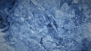Превью обои лед, осколки, макро, текстура
