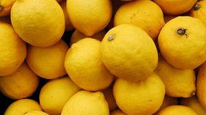 Превью обои лимон, цитрус, фрукты, желтый