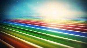 Превью обои линии, разноцветные, рендер