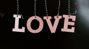 Превью обои любовь, слово, буквы