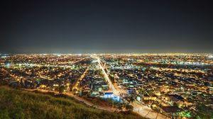 Превью обои лос-анджелес, калифорния, ночь