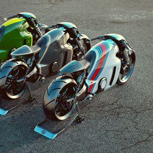 Превью обои lotus c-01, мотоцикл, супербайк, рендер