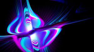 Превью обои лучи, форма, разноцветный, свечение, абстракция