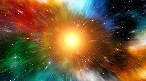 Превью обои лучи, разноцветный, солнце, яркий, блеск