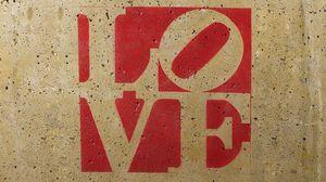 Превью обои любовь, надпись, фон