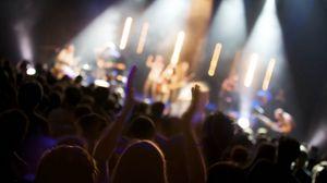 Превью обои люди, концерт, толпа