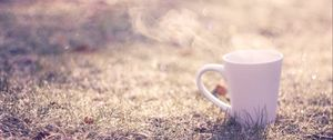 Превью обои макро, кофе, минимализм