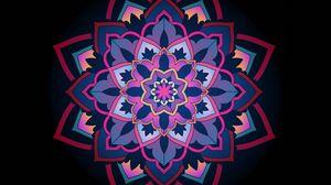 Превью обои мандала, орнамент, узоры, кружевной, ажурный
