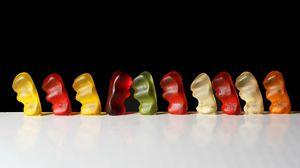 Превью обои мармелад, цвета, форма, отличие