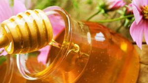 Превью обои мед, цветы, сладкий