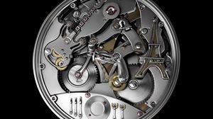 Превью обои механизм, устройство, металл, частички
